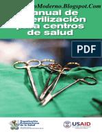 Amr Manual Esterilizacion Para Centros Salud
