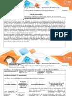 Guia de Actividades y Rubrica Unidad 2 Fase 3 Evaluación Económica y Analisis de Sensibilidad