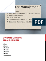 Penganter Manajemen