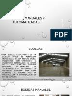 3.2 Bodegas Manuales y Automatizadas