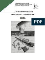 Ejercicios de Carga Eléctrica y Ley de Coulomb