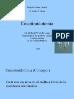 cricotiroidotomia