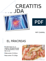 Pancreatitis CIRUGIA 1