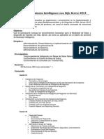 Business Intelligence Con SQL Server 2014
