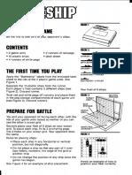 Battleship Rules