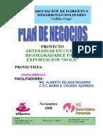 Artesania Nola Plan de Negocio 2008-2009