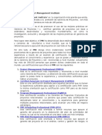 Que Es El PMI Project Management Institute v2