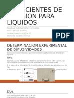 Coeficientes de Difusion Para Liquidos (1)