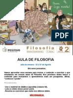 7a Serie - Aula de Filosofia - Conhecimento382009185537