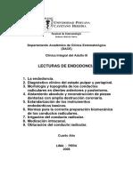 UPCH-FE-DACE - Lecturas de Endodoncia 2008-2