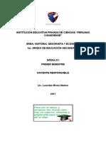 Modulo Historia