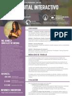 Diseño Digital Interactivo Curso