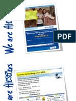 AIESEC in Austria 09/10 Examples Recruitment Materials