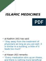 (4th Meeting) Islamic Medicines