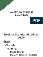 2.1 Overview Standard Dan Detail Bab I