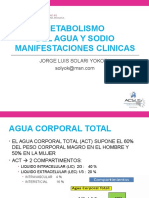 5. Metaboliso Del Agua y Del Sodio Clase Mayo 2017