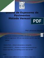 Diseño de Espesores de Pavimentos Flexibles (Metodo Venezolano)