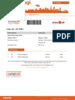 [1015502C]E-ticket Pegipegi.com 1