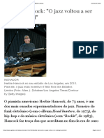 "Herbie Hancock ""O jazz voltou a ser underground"" - ÉPOCA | Ideias"