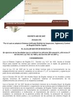 Decreto 483 de 2007