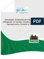 Estrategia Ambiental de Adaptacin y Mitigacin Al Cambio Climtico