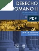 Derecho Romano II 2 Semestre