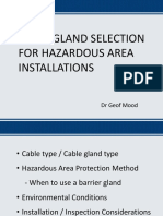 Cable Gland Selection