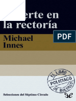 Muerte en La Rectoría - Michael Innes