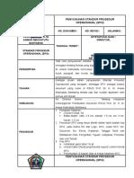 Spo Penyusunan Standar Prosedur Operasional