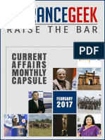 Current Affairs February 2017 PDF Download by ENTRANCEGEEK
