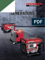 Honda Power Products (Generator Brochure 07-2016).pdf