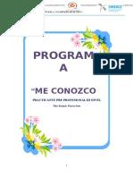 Programa Del Servicio de Medicina B NILA