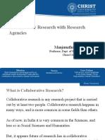 Collaborative Research - MMShettigar