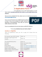 ICS application
