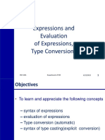 3Expressions&Type Conversion