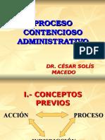 Proceso Contencioso Administrativo Diplomado
