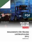 Tractorpulling Norr Reglemente Lastbilspulling 20151