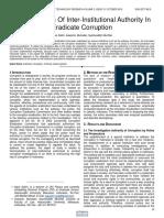 Harmonization of Inter Institutional Authority in Eradicate Corruption