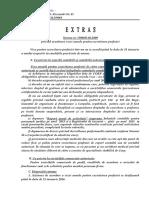 Extras Norma 1500 Din 2016-Acordarea Vizei Anuale an 2016
