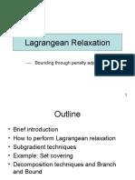 Lagrangian Relaxation