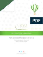 Brochure Nocom Formazione Comunicazione e Coaching2017