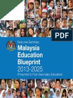 Malaysia education blueprint 2013 2025 executive summary programme malaysia education blueprint 2013 2025 executive summary programme for international student assessment educational assessment malvernweather Image collections