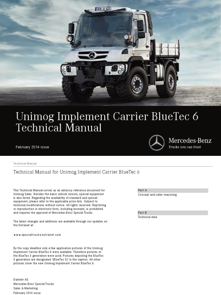 Unimog New1 | Exhaust Gas | Emission Standard on