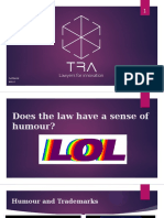 Does the Law have a Sense of Humour?