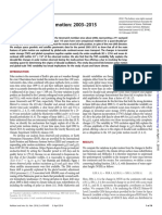 Climate-driven Polar Motion. 2003–2015