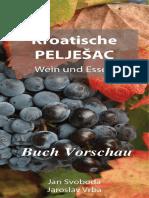 Kroatische Peljesac Wein Und Essen - Buch Vorschau