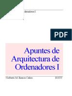 Arquitectura de Ordenadores I