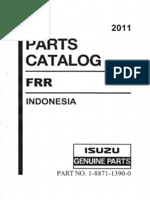 IsuzuGIGA_FRRpartsMnl pdf | Truck | Pipe (Fluid Conveyance)