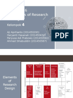 PPT Metode Penelitian Chapter 6 Elements of Research Design