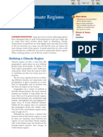 Chapter 3 Section 3 World Climate Regions